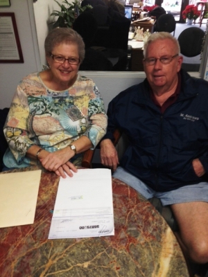 William and Sharon meet agent to sell Santee Mobile home