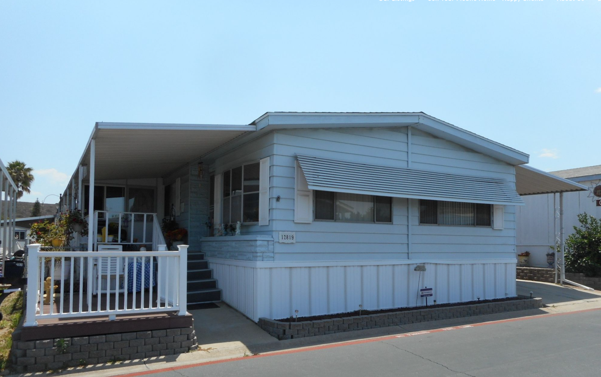 Example of a Mobile Home in San Diego